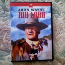 Cine: DVD RIO LOBO, DE HOWARD HAWKS, CON JOHN WAYNE. Lote 54861239