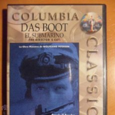 Cine: EL SUBMARINO. DAS BOOT. DVD DE LA PELICULA DE WOLFGANG PETERSEN. . Lote 54876404