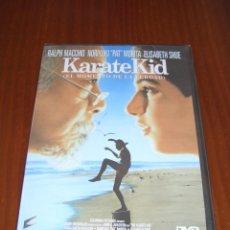 Cine: DVD - KARATE KID - RALPH MACCHIO - PAT MORITA - ELISABETH SHUE. Lote 54897511