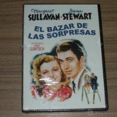 Cine: EL BAZAR DE LAS SORPRESAS DVD DE ERNEST LUBITSCH MARGARET SULLAVAN JAMES STEWART NUEVA PRECINTADA. Lote 147938926