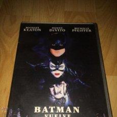 Cine: BATMAN VUELVE - MICHAEL KEATON - DANNY DEVITO - DVD. Lote 54955128