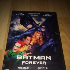 Cine: BATMAN FOREVER - VAL KILMER - JIM CARREY - TOMMY LEE JONES - NICOLE KIDMAN - DVD -. Lote 54955193
