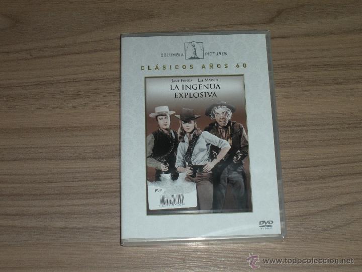 LA INGENUA EXPLOSIVA DVD JANE FONDA LEE MARVIN NUEVA PRECINTADA (Cine - Películas - DVD)