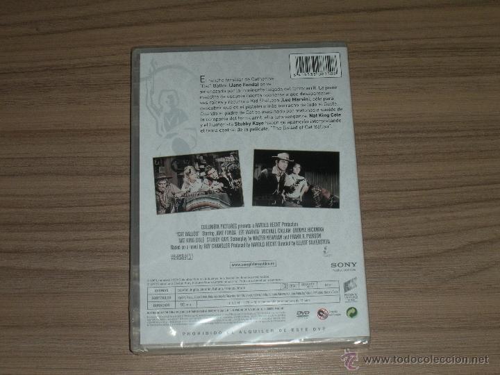 Cine: La INGENUA EXPLOSIVA DVD Jane Fonda Lee Marvin NUEVA PRECINTADA - Foto 3 - 210001325