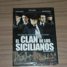 Cine: EL CLAN DE LOS SICILIANOS DVD ALAIN DELON JEAN GABIN LINO VENTURA NUEVA PRECINTADA. Lote 218466891