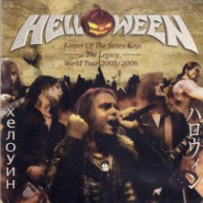 Cine: HELLOWEEN - KEEPER OF THE SEVEN KEYS - THE LEGACY - WORLD TOUR 2005/2006. Lote 54983967