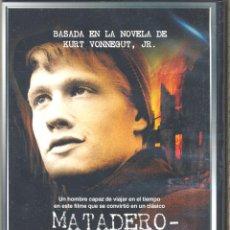 Cine: MATADERO CINCO DVD: PRISIONERO DE LOS NAZIS EN UN MATADERO ... DEL QUE NO IBA A SALIR SINO TROCEADO.. Lote 180284341