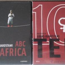 Cine: ABC IN AFRICA + TEN - ABBAS KIAROSTAMI - DESCATALOGADO - 2 DVD. Lote 54997617