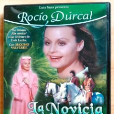 Cine: LA NOVICIA REBELDE - PELÍCULA CON ROCÍO DÚRCAL - DVD. Lote 54998114