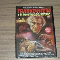 Cine: FRANKENSTEIN Y EL MONSTRUO DEL INFIERNO DVD DE TERENCE FISHER PETER CUSHING NUEVA PRECINTADA. Lote 239580995