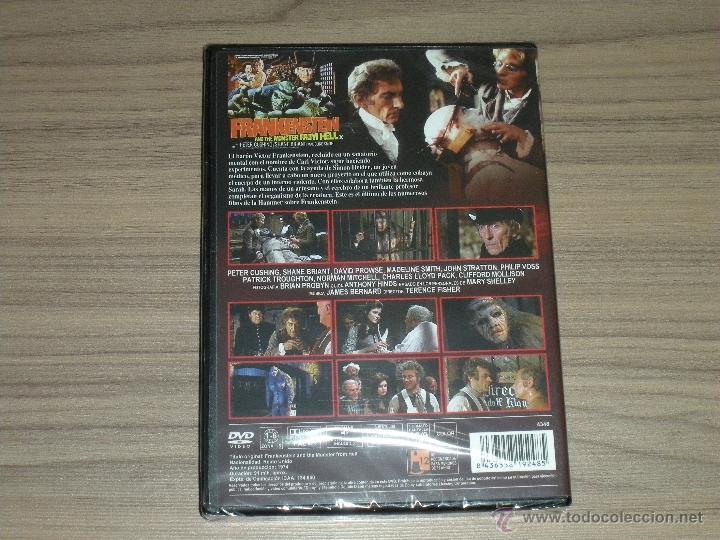 Cine: FRANKENSTEIN y el MONSTRUO del INFIERNO DVD de TERENCE FISHER Peter Cushing NUEVA PRECINTADA - Foto 2 - 239580995