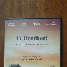 Cine: DVD O BROTHER GEORGE CLOONEY JOHN TURTURRO JOHN GOODMAN HERMANOS COHEN. Lote 55005278