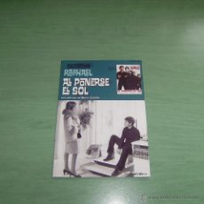 Cine: PELICULA DVD - COLECCION RAPHAEL - AL PONERSE EL SOL. Lote 55009669