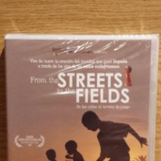Cine: FROM THE STREETS TO THE FIELDS. DE LAS CALLES AL TERRENO DE JUEGO. DVD PRECINTADO.. Lote 55084161