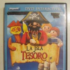 Cine: DVD PLAYMOBIL LA ISLA DEL TESORO. Lote 83709404