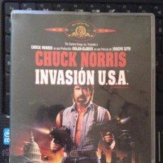 Cine: INVASION USA - CHUCK NORRIS - DVD RARO - . Lote 56714071