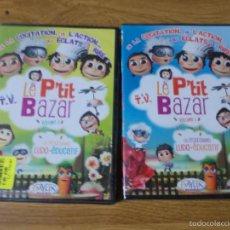 Cine: LE P´TIT BAZAR VOLUME 1 Y 3. Lote 55104176