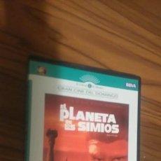Cine: EL PLANETA DE LOS SIMIOS. LA CLÁSICA. CHARLTON HESTON. BUEN ESTADO. Lote 55143318