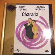 Cine: CHARADA. LIBRO DVD DE LA PELICULA DE LA PELICULA DE STANLEY DONEN. CON CARY GRANT Y AUDREY HEPBURN.. Lote 55181478