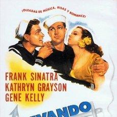 Cine: DVD LEVANDO ANCLAS FRANK SINATRA. Lote 55197271