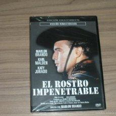 Cine: EL ROSTRO IMPENETRABLE EDICION COLECCIONISTA REMASTERIZADA DVD MARLON BRANDO NUEVA PREICNTADA. Lote 98727288