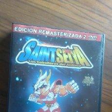 Cine: SAINT SEIYA. LOS CABALLEROS DEL ZODIACO. VOL. 1. DOBLE DVD. EDICIÓN REMASTERIZADA. BUEN ESTADO. Lote 55251907