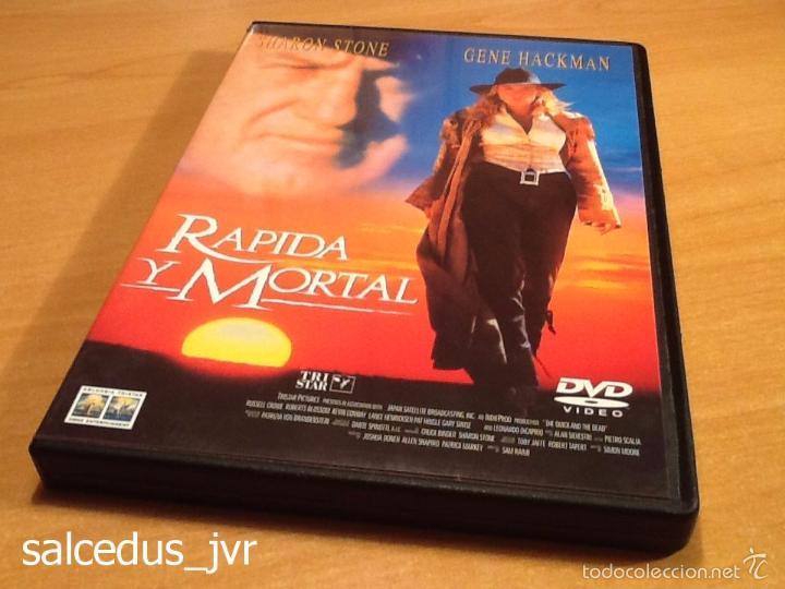 RÁPIDA Y MORTAL SHARON STONE PELÍCULA EN DVD MUY BUEN ESTADO (Cine - Películas - DVD)