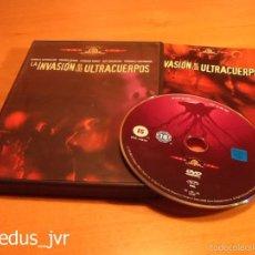 Cine: LA INVASIÓN DE LOS ULTRACUERPOS PELÍCULA EN DVD EXCELENTE ESTADO. Lote 55304428