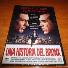 Cine: UNA HISTORIA DEL BRONX DVD 1995 PRECINTADA ESPAÑA ROBERT DE NIRO CHAZZ PALMINTERI JIMI HENDRIX. Lote 55312278