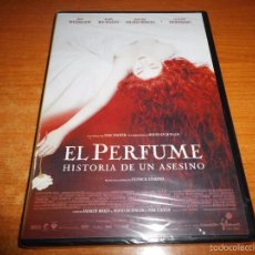 Cine: EL PERFUME DVD 2007 PRECINTADA TOM TYKWER DUSTIN HOFFMAN BEN WHISHAW ALAN RICKMAN RACHEL HURD-WOOD. Lote 140995277