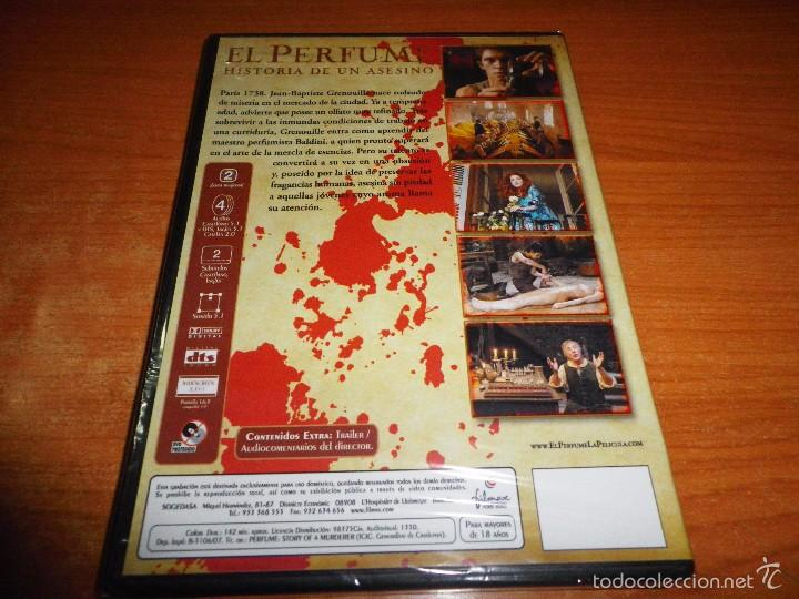 Cine: EL PERFUME DVD 2007 Precintada TOM TYKWER DUSTIN HOFFMAN BEN WHISHAW ALAN RICKMAN RACHEL HURD-WOOD - Foto 2 - 140995277