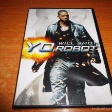 Cine: YO ROBOT DVD 2004 ESPAÑA PRECINTADO ALEX PROYAS WILL SMITH BRIDGET MOYNAHAN BRUCE GREENWOOD. Lote 55321990