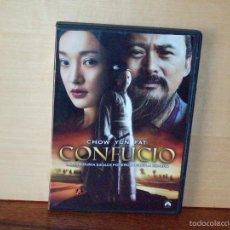 Cine: CONFUCIO - CHOW YUN FAT - DIRIGIDA POR HU MEI - DVD. Lote 75410526