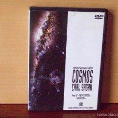 Cine: COSMOS CARL SAGAN - CAPITULO 12 ENCICLOPEDIA GALACTICA - DVD. Lote 55349716
