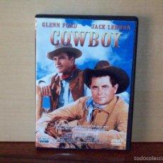 Cine: COWBOY - GLENN FORD - DIRIGIDA POR DELMER DAVES - DVD . Lote 55350473
