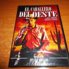 Cine: EL CABALLERO DEL OESTE DVD 2010 ESPAÑA PRECINTADO STUART HEISLER GARY COOPER LORETTA YOUNG. Lote 55356351