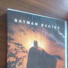 Cinema: BATMAN BEGINS. LA CARÁTULA ALGO ARRUGADA. POR LA DEMÁS BUEN ESTADO. Lote 55360955