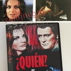 Cine: ¿ QUIÉN ? ( QUI ? )- DVD PELÍCULA SUSPENSE - ROMY SCHNEIDER - MAURICE RONET LÉONARD KEIGEL - DIFÍCIL. Lote 55398391