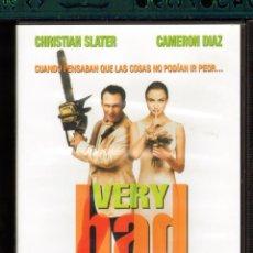 Cine: CINE GOYO - DVD - VERY BAD THINGS - COSAS MUY MALAS - CAMERON DIAZ - CHRISTIAN SLATER- *CC99. Lote 39344307