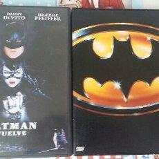 Cine: PACK BATMAN DVD TIM BURTON. Lote 55555343