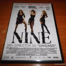 Cine: NINE DVD 2010 ESPAÑA ROB MARSHALL NICOLE KIDMAN PENELOPE CRUZ KATE HUDSON SOPHIA LOREN. Lote 55691788