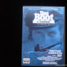 Cine: DAS BOOT EL SUBMARINO (DVD COMO NUEVO). Lote 97268299