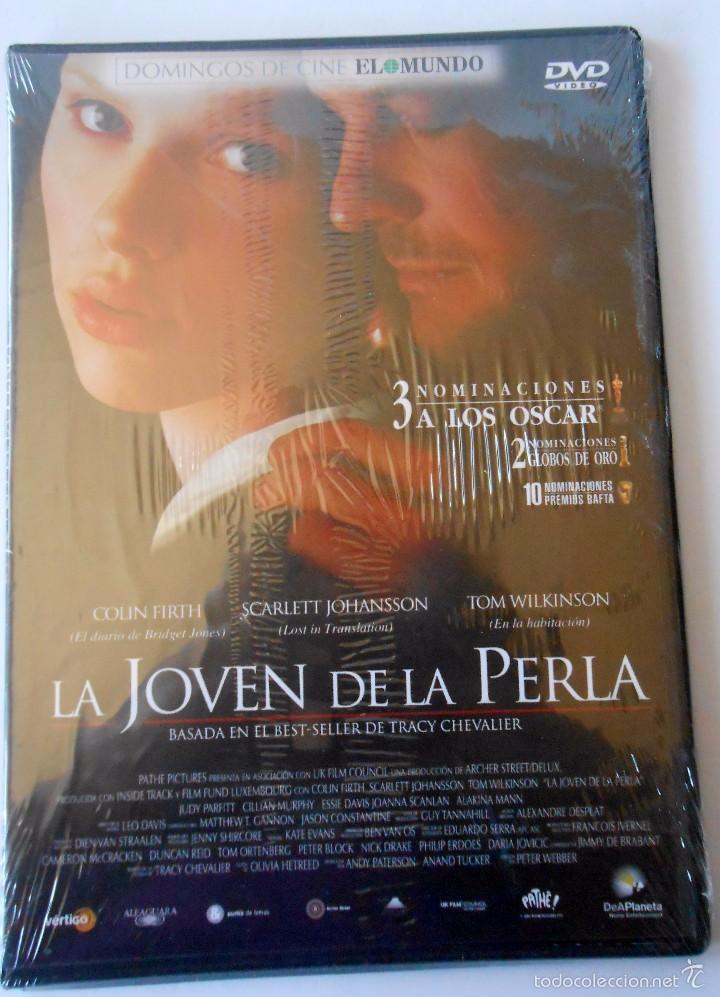 LA JOVEN DE LA PERLA PRECINTADO (Cine - Películas - DVD)