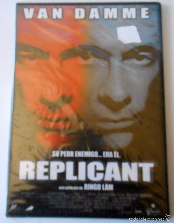REPLICANT JEAN CLAUDE VAN DAMME PRECINTADO (Cine - Películas - DVD)