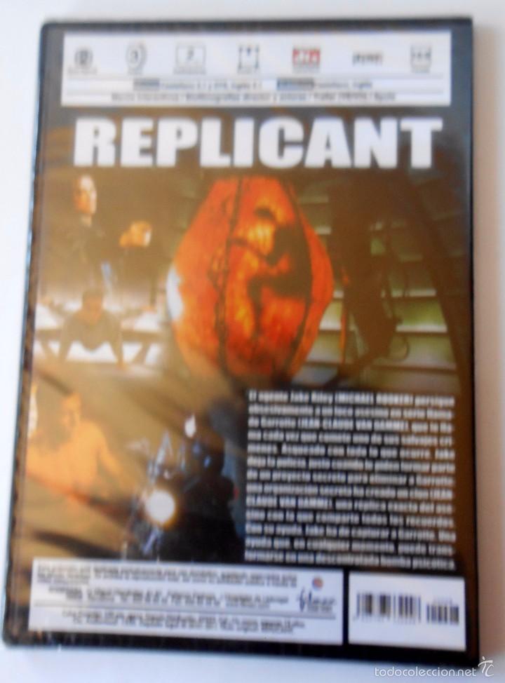 Cine: REPLICANT Jean Claude Van Damme precintado - Foto 2 - 55718592