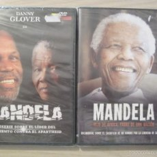 Cine: DVD MANDELA + DOCUMENTAL. Lote 55786529