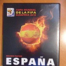 Cine: ESPAÑA VS HONDURAS. COPA MUNDIAL DE LA FIFA SUDAFRICA 2010. DVD DEL PARTIDO DE FUTBOL DE LA SELECCIO. Lote 55800136