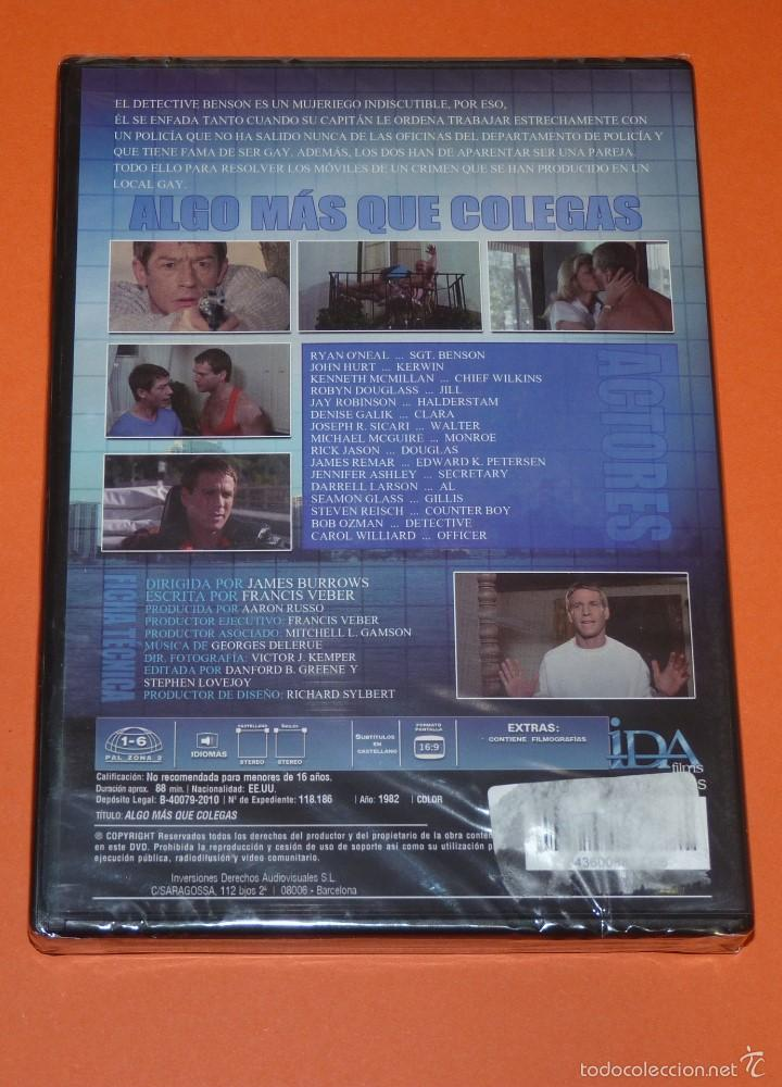 Cine: DVD ALGO MAS QUE COLEGAS - JAMES BURROWS con RYAN O'NEAL JOHN HURT -PRECINTADA DESCATALOGADA [CMLTC] - Foto 2 - 55814489