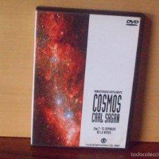 Cine: COSMOS CARL SAGAN - CAPITULO 7 EL ESPINAZO DE LANOCHE - DVD DOCUMENTAL. Lote 55819618