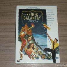 Cine: EL SEÑOR DE BALANTRY DVD ERROL FLYNN WARNER NUEVA PRECINTADA. Lote 98727303